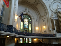 The chapel at the US Naval Academy.