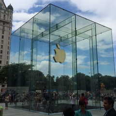 Leave it to Apple to have the coolest store around.