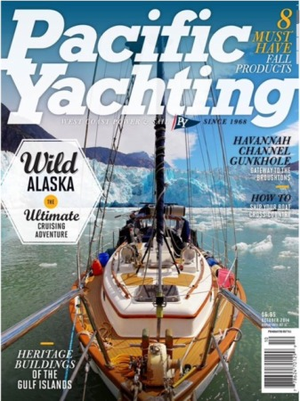 A Lord Nelson (our boat) on the magazine cover