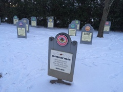 The 'flavor graveyard' at Ben & Jerry's