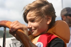 Malachi at the helm