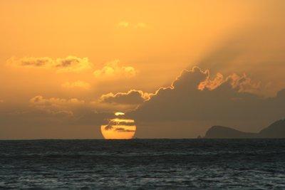 Sunset in White Bay
