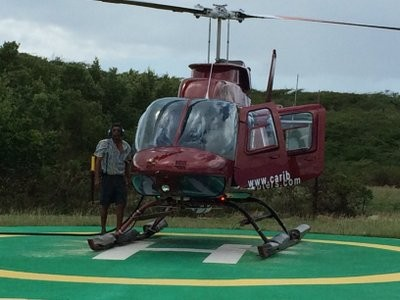 Our chariot to Montserrat