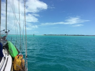 The water of Providenciales of the TCI is stunning.
