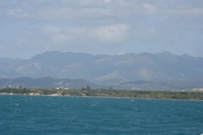 The coast of Puerto Rico