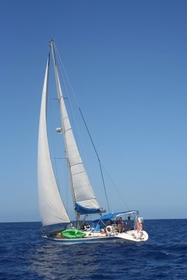 Our friend Jim's boat, Lady Jane