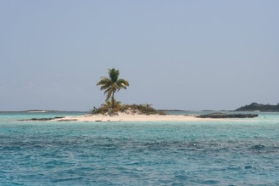 Picture-perfect island near Norman Cay